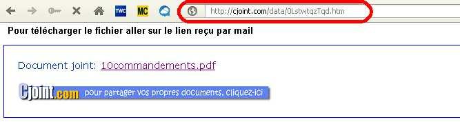 lien transfert fichier gratuit